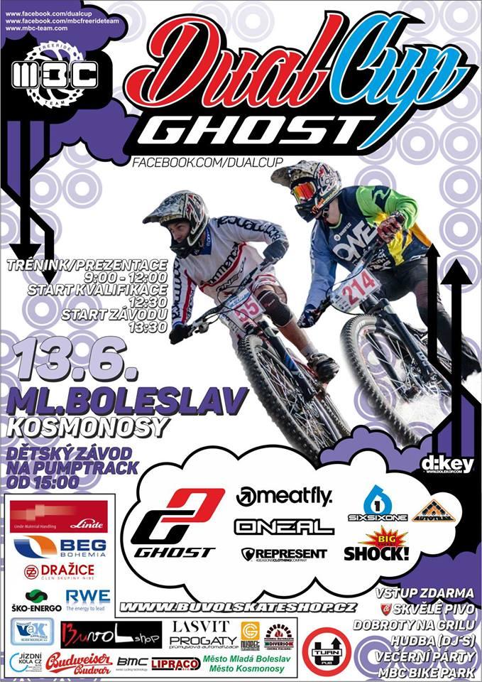 GHOST 4X a Dual CUP Mladá Boleslav