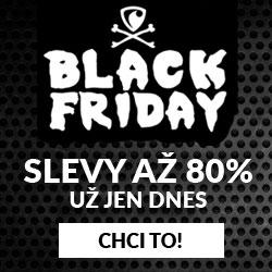 Black Friday - slevy až 80%