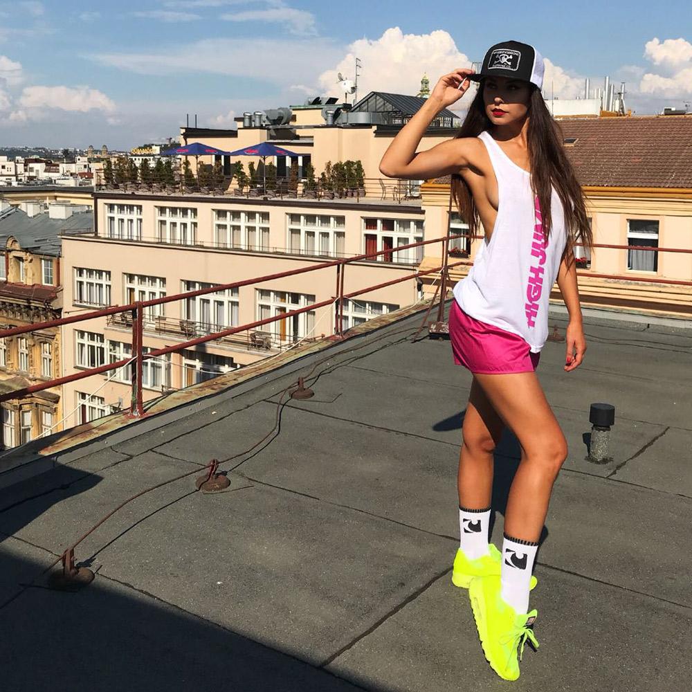 Dámské triko Represent High Jump - Patricie Skálová