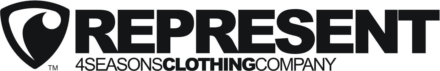 Oficiální logo značky Represent