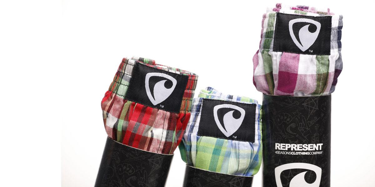 Oblíbené boxerky Represent - 3PACK