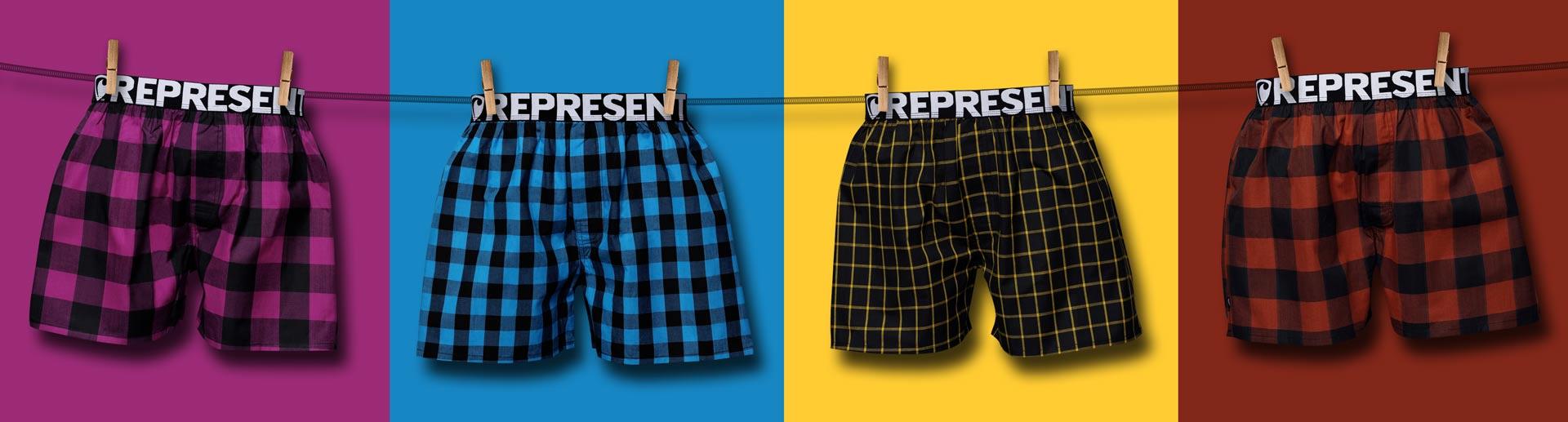 Nové pánské boxerky Represent Classic