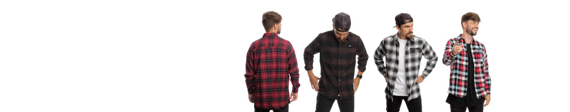 Nová kolekce pánských flanelových košil Represent