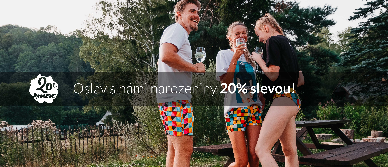 narozeniny 20 let represent - sleva 20%