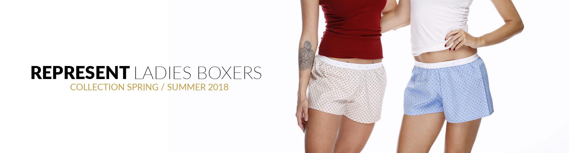 Nové dámské boxerky Represent
