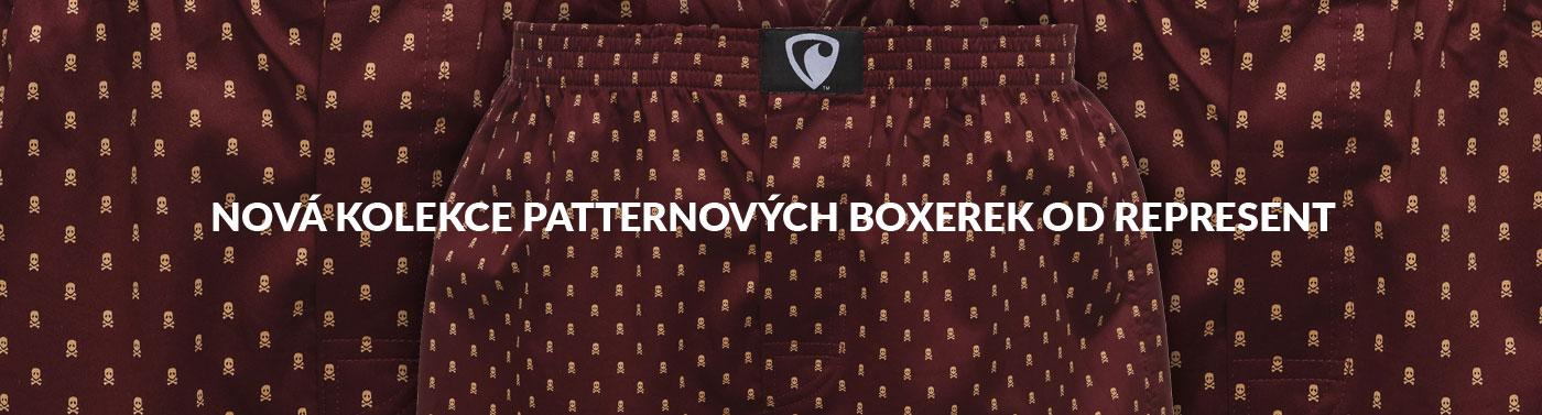 Nové patternové boxerky Represetn Exclusive