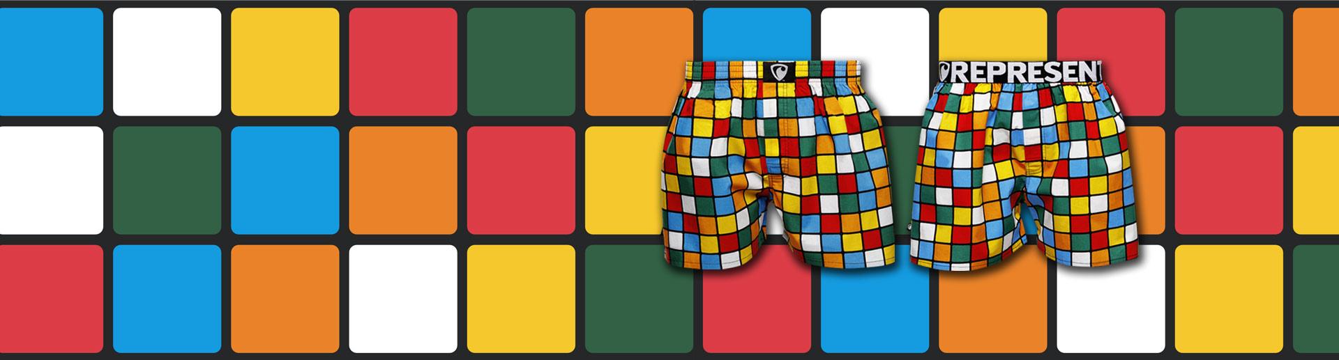 Nové pánské boxerky Exclusive RUBIK