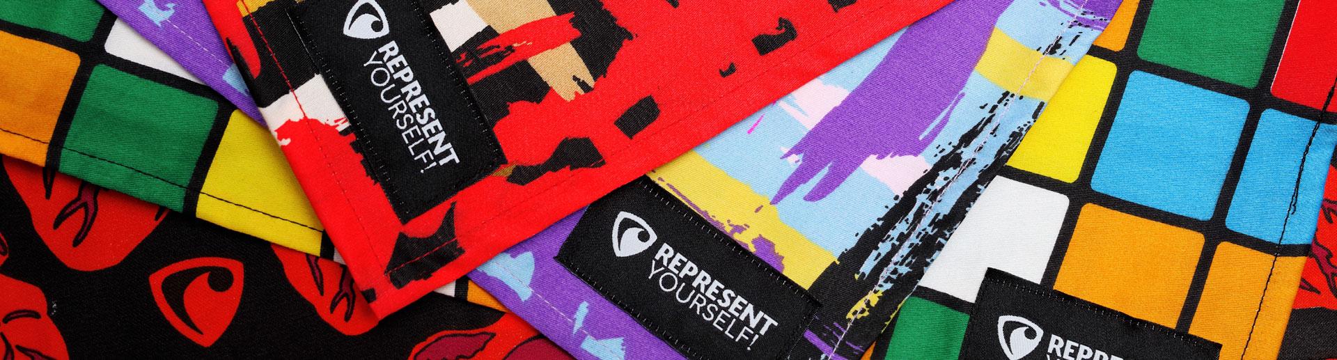 stylové šátky bandana represent