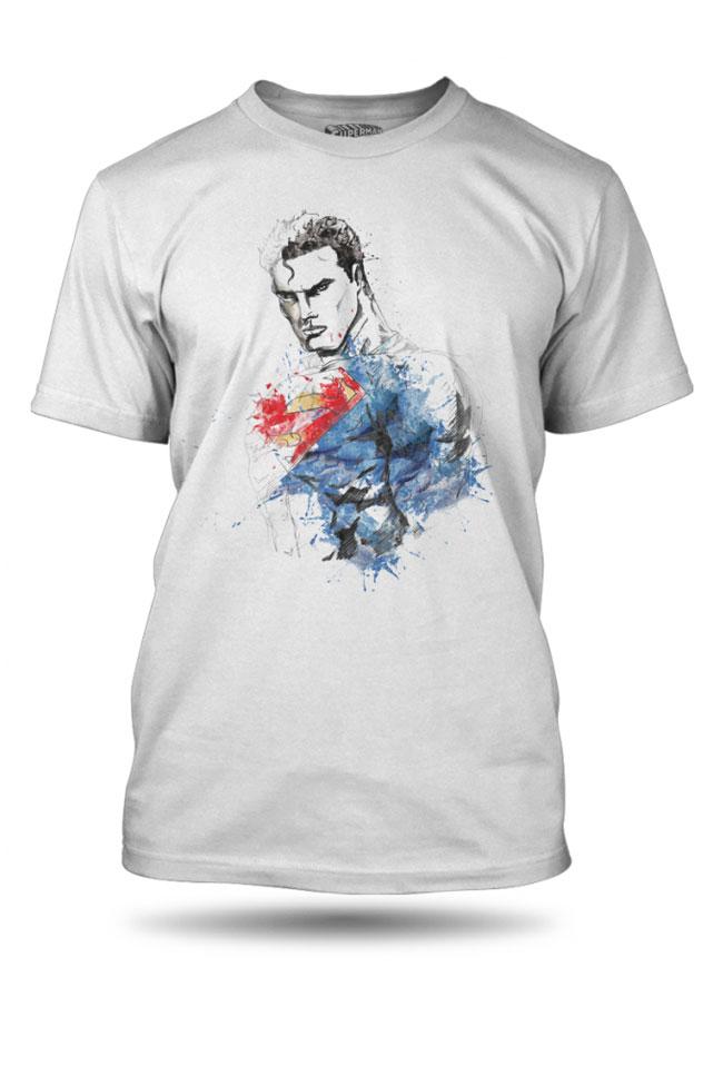 Tričko s krátkým rukávem GEEK SUPERMAN COLOR 1aa2acfd93